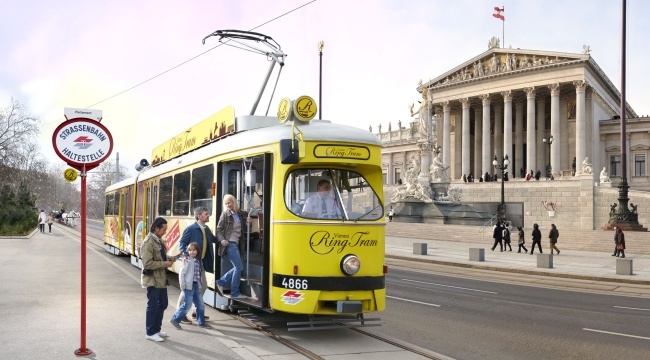 W centrum kursuje specjalny tramwaj, którym można przejechać się po tzw. Ringu