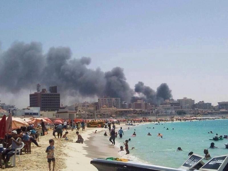 Czy to naprawdę wygląda jakby w Egipcie nic się nie działo???