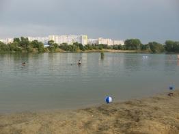 Dowód na to, że jeziorko jest w mieście ;)
