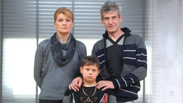 Xavier z rodzicami