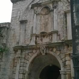 Brama miejska od zadka